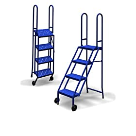 Tri-Arc KDMF104166 Scout 4-Step Mobile/Folding Steel Step Stand