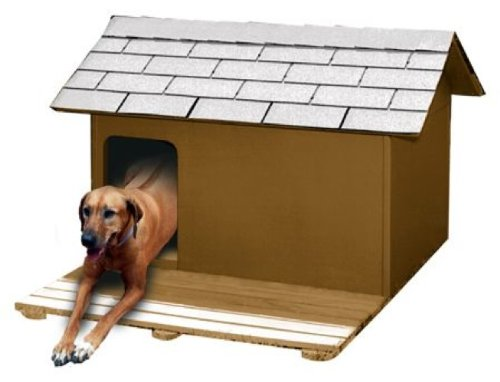 dog house plans for large dogs. Dog House Insulated with Deck