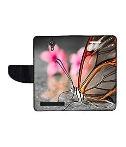KolorEdge Printed Flip Cover For Asus Zenfone C Multicolor - (47KeMLogo09966ZenC)