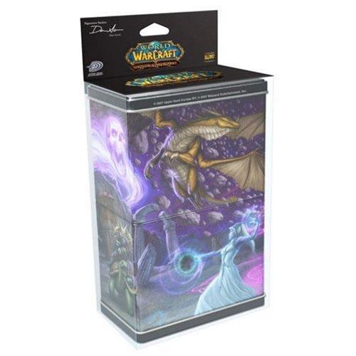 Upper Deck - ACCWOW009 - Jeu de Société - World of Warcraft - Boîtes Met alliques Empilables la Caverne - Série 3