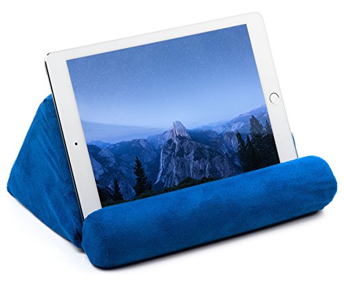 Tablet Pillow For Galaxy And IPad, Plush Microfiber Mini Tablet Computer Holder Sofa Reading ...
