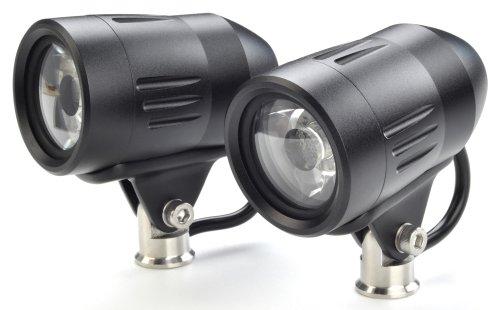 Trail Tech (Ledh-875-Bk) Equinox Black 35Mm Frame Mounted Atv Led Dual Light Kit