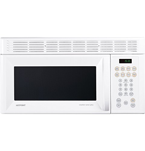 Ge RVM1535DMWW Hotpoint Microwave Oven Over-The-Range White (Built In Microwave White compare prices)