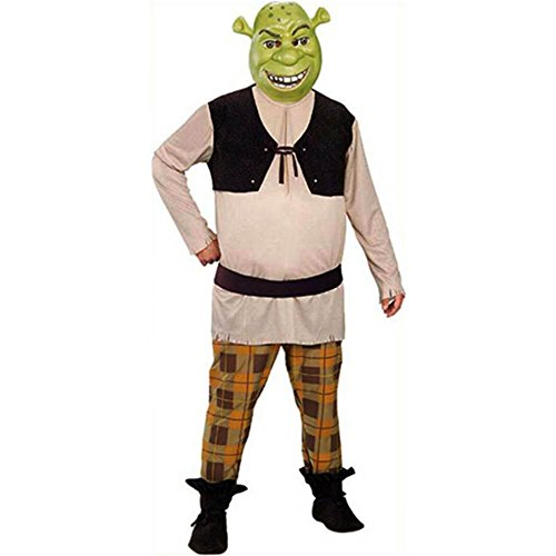 Deluxe Shrek Plus Size Adult Costume - X-Large