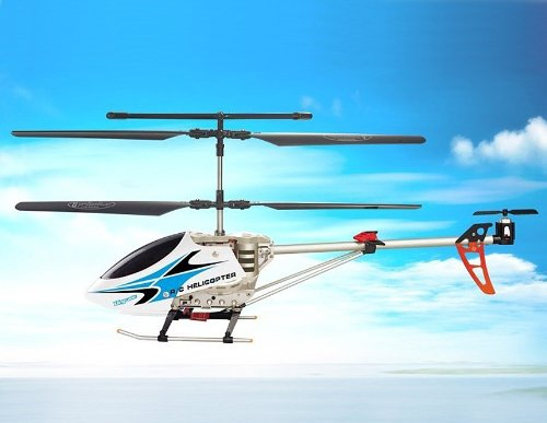 SongYang 8088-35 3 Channels RC Helicopter with Gyroscope (Blue)