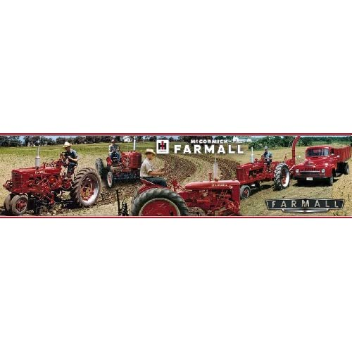 Farmall letter series tractor wallpaper border tractor - Farmall tractor wallpaper border ...