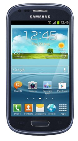 Samsung Galaxy S3 Mini i8190 Smartphone on Vodafone / Pay as you go / Pre-Pay / PAYG - Blue Black Friday & Cyber Monday 2014