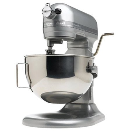 KitchenAid Super Big Capacity Lift Style Model KP26M1XMC Professional 600 Series 6-Quart Stand Mixer, Metalic Chrome Beautiful Color. (Kitchen Aid Stand Mixer Big compare prices)