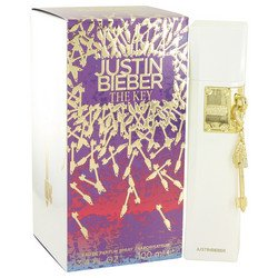 The Key by Justin Bieber Women's Gift Set -- 3.4 oz Eau De Parfum Spray + 3.4 oz Body Lotion + 3.4 oz Shower Gel - 100% Authentic