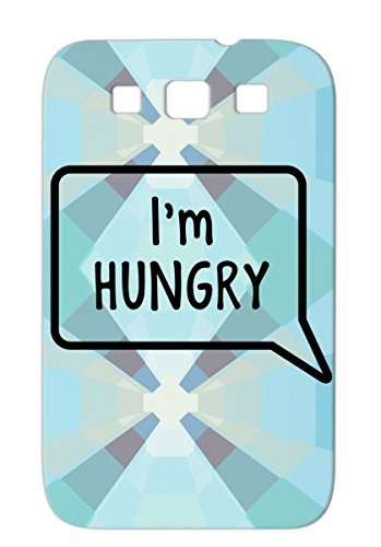 Im Hungry Tummy Stomach Design Laugh Pregnancy Pregnancy Baby Joke Food Funny Maternity Growl Protective Case For Sumsang Galaxy S3 Black Anti-Drop front-937606