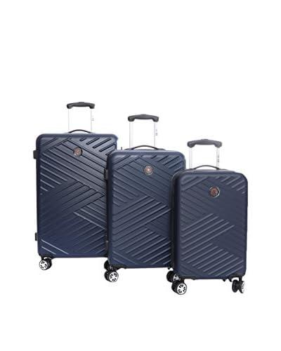 CANADIAN PEAK Set de 3 trolleys rígidos Squadra