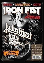 Iron Fist ( 2014 # 11 ) Judas Priest (Iron Fist Magazine compare prices)