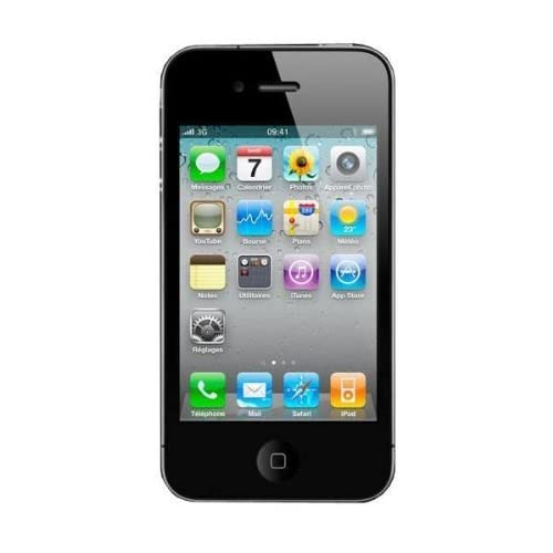 Comparer APPLE IPHONE4 3G NOIR 32GO