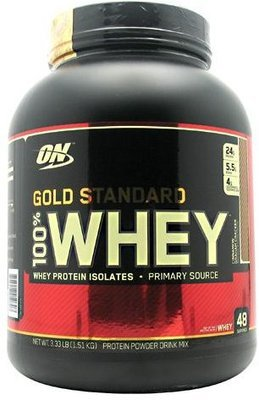 Gold Standard 100% Whey, 3 Lb, Cinnamon Graham Cracker