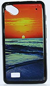 FCS Silicon Designer Back Case for Micromax Bolt Supreme 2 Q301