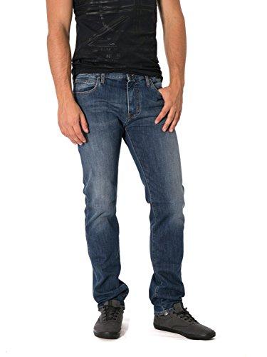 ARMANI JEANS - Jeans uomo slim fit 8n6j45 6d0mz w33 l34 denim