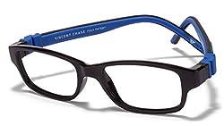 Vincent Chase Flex VC 8028 Black Blue C4 Kids' Eyeglasses (Kids 6-10 yrs)