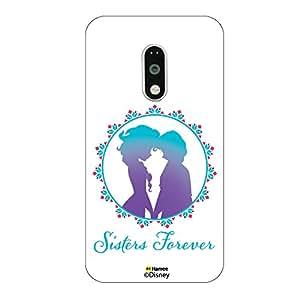 Hamee Disney Princess Frozen Official Licensed Designer Cover Hard Back Case for Lenovo K4 Note ( Sisters Forever )