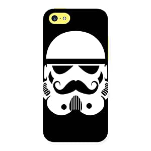 Special Mustach Black Back Case Cover for iPhone 5C