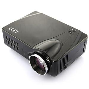 LED Videoprojecteur HDMI 1080P- Noir