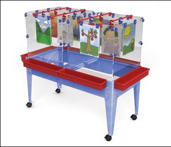 Space Saver Easel 6 Station