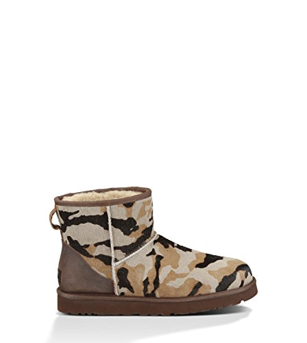 UGG Men's Classic Mini Camo Seal Camo Calf Hair/Leather Boot
