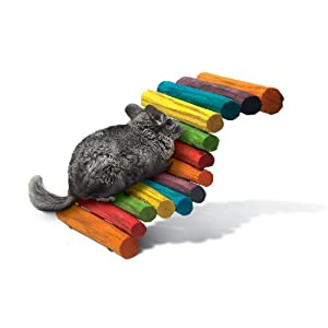 Click to buy Rabbit Toy: Super Pet Rabbit Large Tropical Fiddle Sticks Hideout from Amazon!