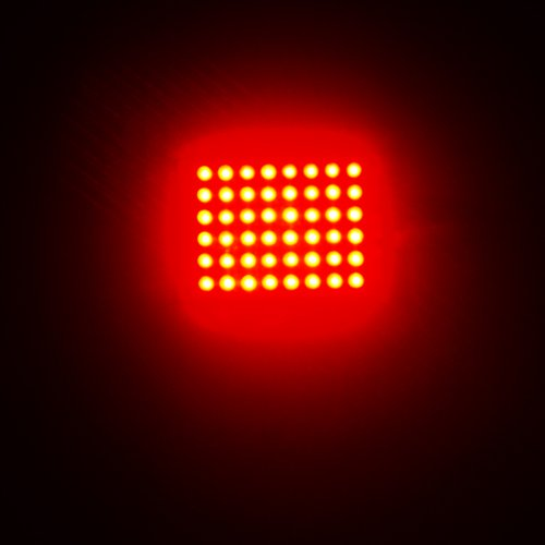 Vakind Super Bright 12V 48 Leds Smd3528 Lamp Lighting Energy Saving Panel Board (Red)