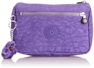 Kipling Kari Vivid Purple, Trousse de maquillage - Violet (Vivid Purple), Taille Unique