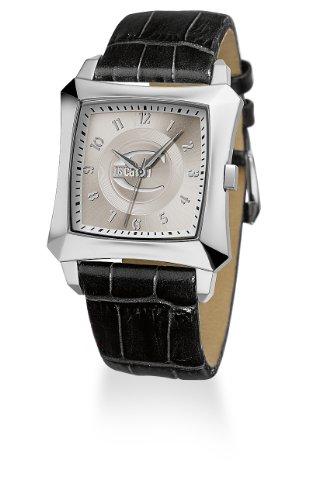 Just-Cavalli-R7251106015-Reloj-de-caballero-de-cuarzo-correa-de-piel-color-negro