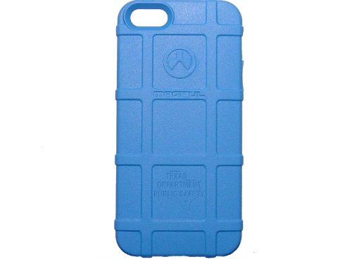 Police Tx Dps State Ol Engraved Magpul Mag452 Field Case Light Blue For Iphone 5 & 5S Engraved By Ndz Performance