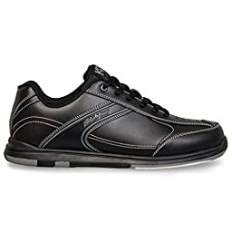 KR Strikeforce M-031-075 Flyer Bowling Shoes, Black, Size 7.5