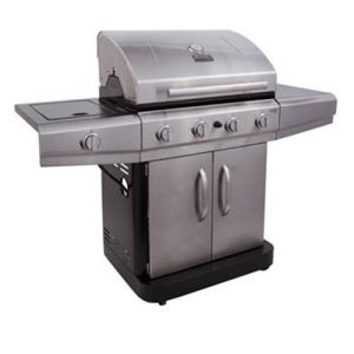CHAR-BROIL #463461614 Gas Grill 3 Sq. ft. - 14.07 kW - Portable - Outdoor