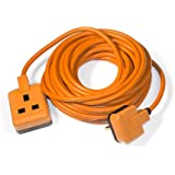Masterplug EXS1315O 5 m 1-Gang Permaplug Heavy Duty Extension Lead - Orange