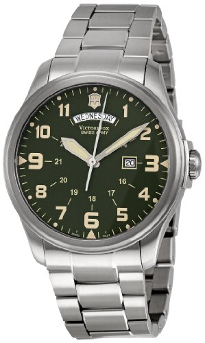 Victorinox Swiss Army Men'S 241291 Infantry Green Dial Watch