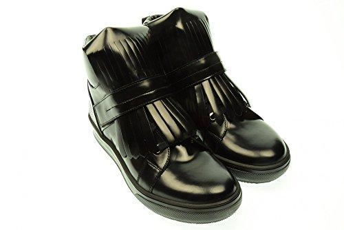 ALBANO donna sneakers con zeppa interna 1955 GI144 39 Nero