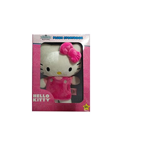 Hello Kitty Zoobies Book Buddies Plush Storybook, 0+ - 1