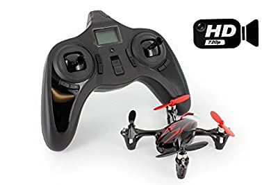 Hubsan X4 H107C with HD 2MP Camera 2.4G 4CH 6 Axis Gyro RC Quadcopter Mode 2 RTF (As shown) by YR.Seasons