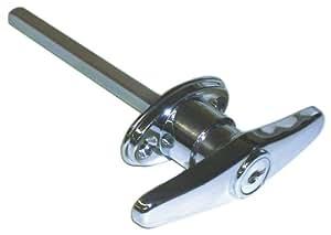 Ideal security inc skt9303 keyed t garage door lock for Ideal door parts
