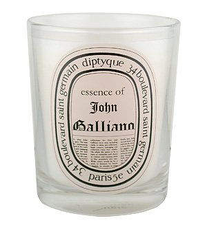 Diptyque Essence of John Galliano Candle Candle