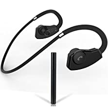 buy First2Savvv Lyyd-985-01 Black Wireless Stereo Sports/Running & Gym Bluetooth Earbuds Headphones Headsets With Microphone Mic For Smart Phones Ipad Tablets Mp3 Player Pc Laptop - Samsung Galaxy Note Edge Note 4 3 2 S5 Mini S5 S6 S6 Edge Alpha K Zoom S4 S4