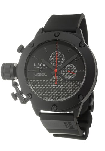 U-Boat Limited Edition Titanium 53 IPB Crono Men's Automatic Watch 53-TIT-CRONO