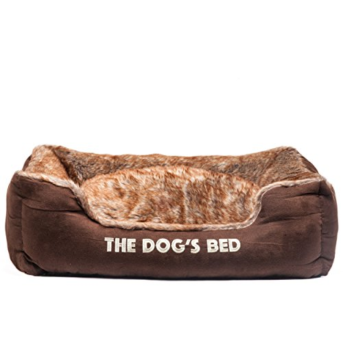 the-dogs-bed-premium-plush-dog-beds-brown-top-quality-faux-fur-faux-suede-fully-washable-with-remova