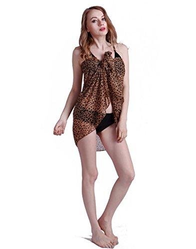 HDE Women's Animal Print Jersey Fashion Scarf (Style #2)