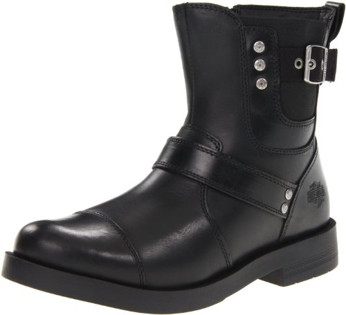 Harley-Davidson Men's Kane Motorcycle Boot,Black,10 M US