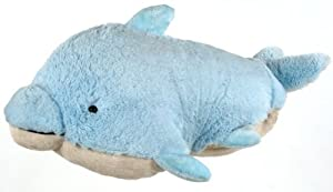 My Pillow Pet Dolphin - Large (Light Blue)