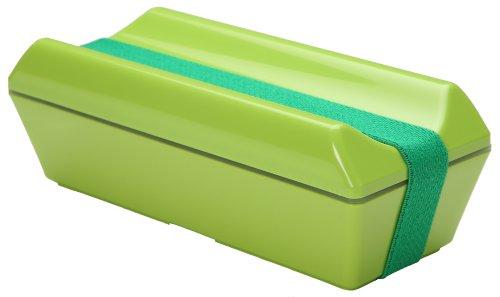 保冷剤一体型ランチボックス GEL-COOL fitシリーズ PECO(凹) グリーン GC-099