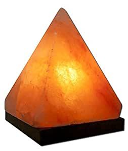 aloha bay salt pyramid lamp himalayan salt. Black Bedroom Furniture Sets. Home Design Ideas