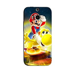 MARIO FUN BACK COVER FOR HTC ONE M8