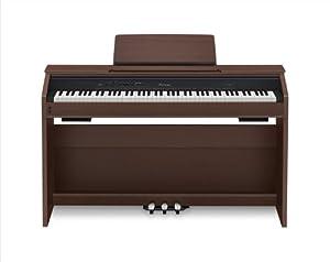 Casio PX850 Privia 88-Key Digital Piano, Brown